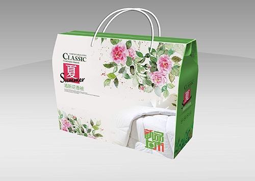 家纺包装盒定制